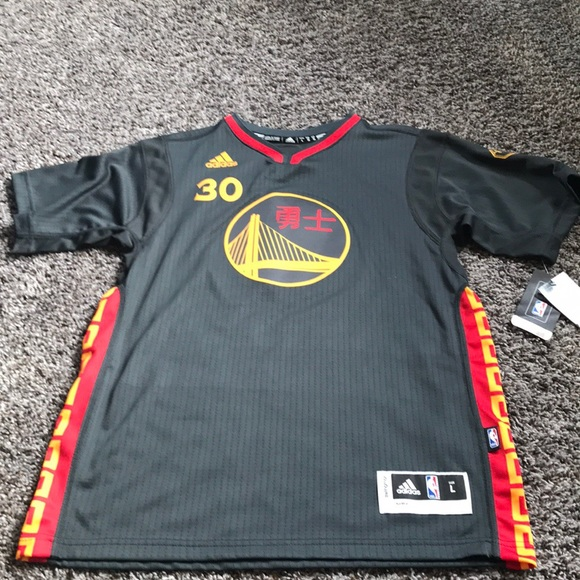 promo code eea45 61d6a Slate Curry Chinese New Year Jersey